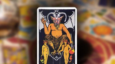 Tarot Marsella el diablo