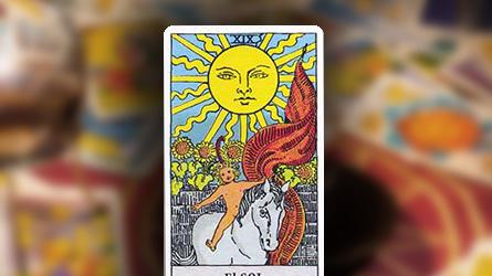 Carta del Tarot  El Sol