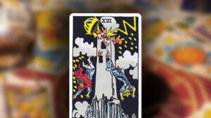 Carta del Tarot  La Torre