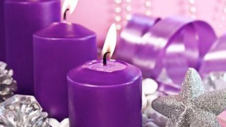 Vela Mágica violeta